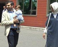 Erdoğanın küçük torunu ilk kez görüntülendi