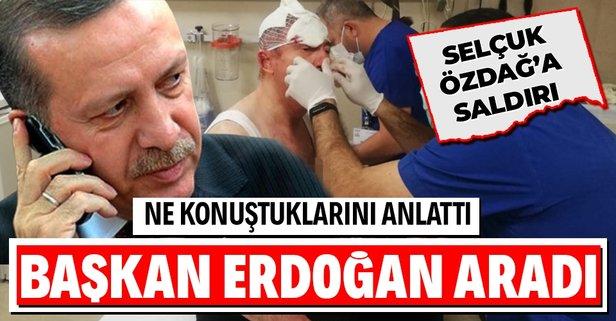 Başkan Erdoğan, Selçuk Özdağ'ı aradı