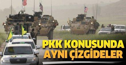 ABD, İran, Rusya PKK/PYD  konusunda aynı çizgideler