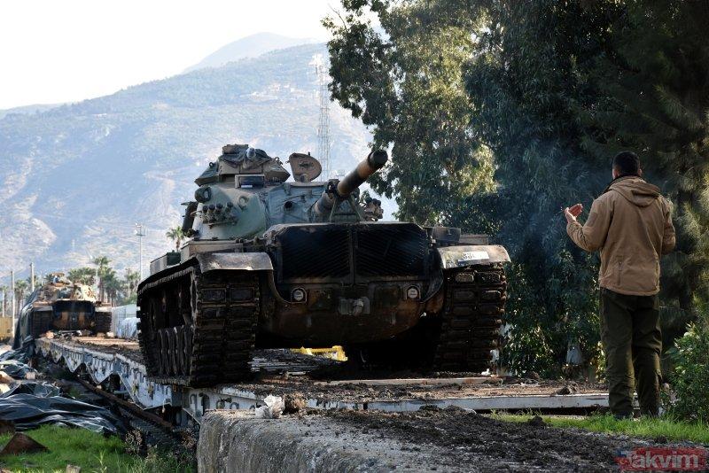 Suriye sınırına sevkiyatta dikkat çeken detay