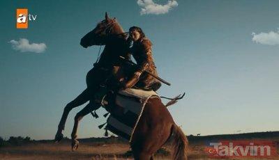 Başrollerinde Ebru Şahin ve Edip Tepeli var! Destan'dan ilk tanıtım: Akkız ile Gök Tegini Batuga gümbür gümbür geliyor