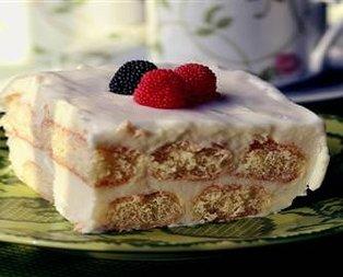 Limonlu Kremalı Pasta Tarifi