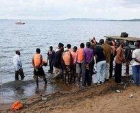 350 yolcunun bulunduğu tekne battı! Onlarca ölü var...
