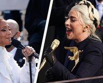 Gaga ve Lopez Biden'ın yemin töreninde