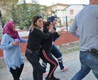 Adanada yol verme kavgası kabusa dönüştü!
