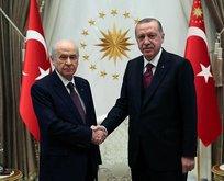 Bahçeliden Erdoğan ile görüşme açıklaması
