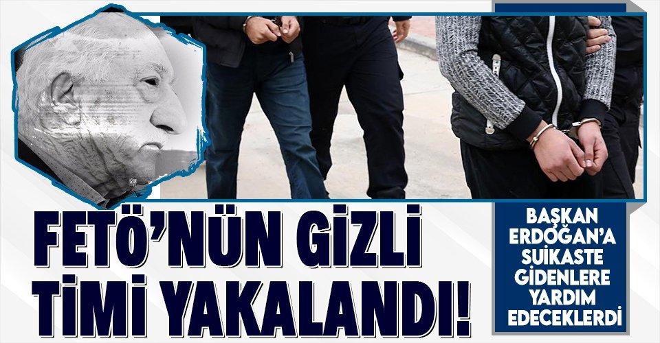 Başkan Erdoğan'a suikaste giden darbecilere operasyon!