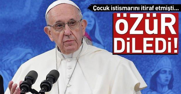 Papa, çocuklara cinsel istismar olayları için özür diledi
