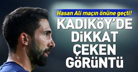 Fenerbahçeli Hasan Ali Kaldırımın dikkat çeken görüntüsü!