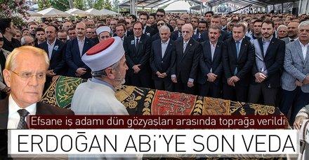 Erdoğan Abi'ye son veda