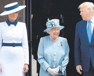 Kraliçe'yi güldürdü