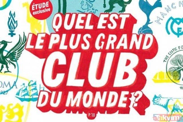 Tarihin en büyük 30 kulübü açıklandı! Listede bir de Türk kulübü var...