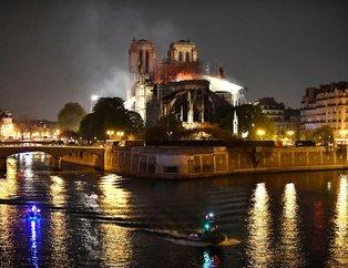 Son dakika... Notre Dame Katedrali'ndeki yangın 8,5 saat sonra söndürüldü