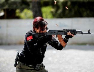 Antalya emniyetinin Lara Croftu meslektaşlarını eğitiyor