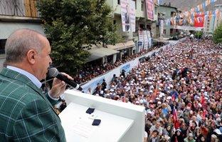 Başkan Erdoğan'dan Artvin'de önemli açıklamalar