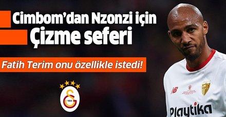 Galatasaray, Nzonzi'yi kiralamak için harekete geçti