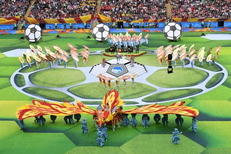 Rusyada görkemli açılış! Dünya Kupası şöleni başladı