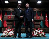 Başkan'dan Kabore onuruna yemek