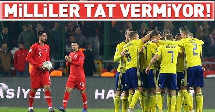 Türkiye: 0 - İsveç: 1 | MAÇ SONUCU