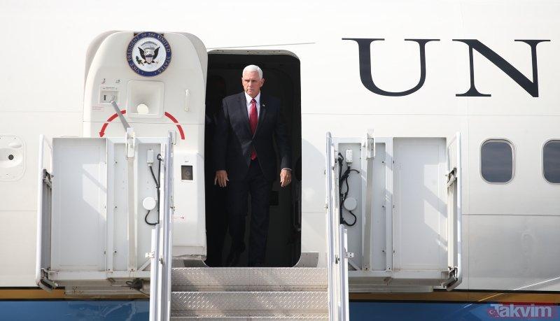 ABD Başkan Yardımcısı Mike Pence Türkiye'de