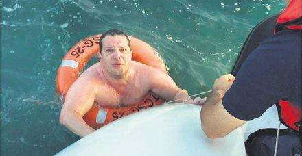Gemlik'te arızalanan tekne sabıkalı çıktı!
