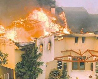 Hollywood yanıyor