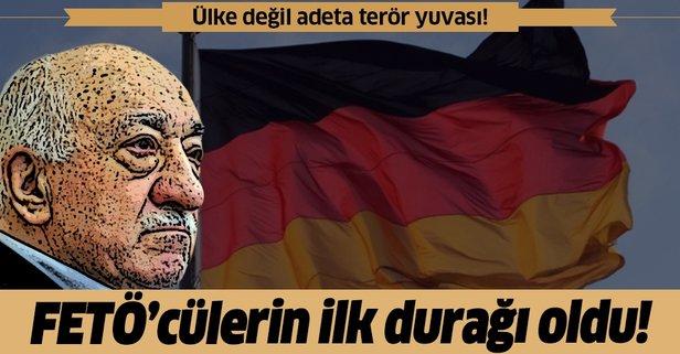 Almanya terör yuvası haline geldi!