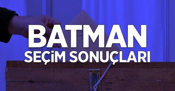 31 Mart Batman yerel seçim sonuçları!