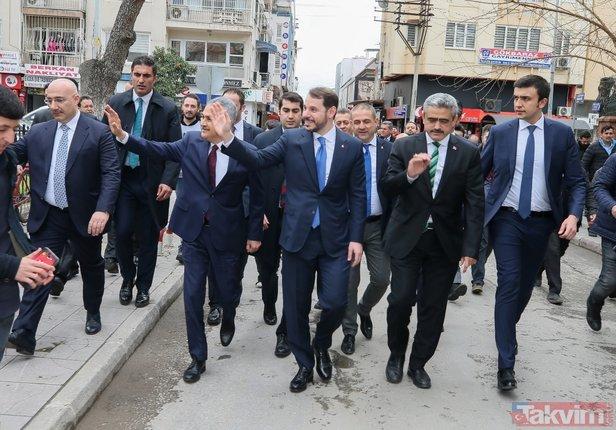 Bakan Albayrak Nazilli Belediyesi'ni ziyaret etti