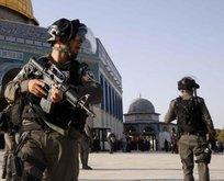 Filistinlilerin Mescid-i Aksa'ya girişine engel!