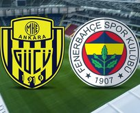 Ankaragücü-Fenerbahçe maçı hangi kanalda?