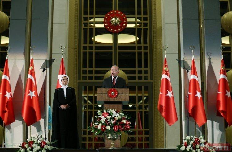 Başkan Erdoğan 30 Ağustos Zafer Bayramı Resepsiyonunda konuştu