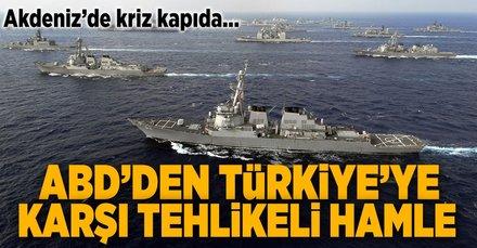 ABD'den Türkiye'ye karşı çok tehlikeli hamle!