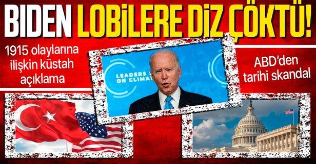 Son dakika: ABD Başkanı Joe Biden'dan skandal açıklama! 1915 olaylarına soykırım  dedi - Takvim
