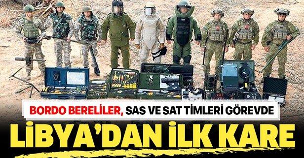 Türk askerinden Libya'da ilk görüntü!