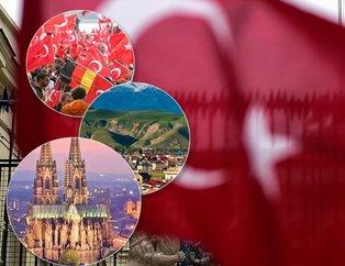 Hangi ülkede kaç Türk yaşıyor? İşte Türklerin yaşadığı ülkeler...