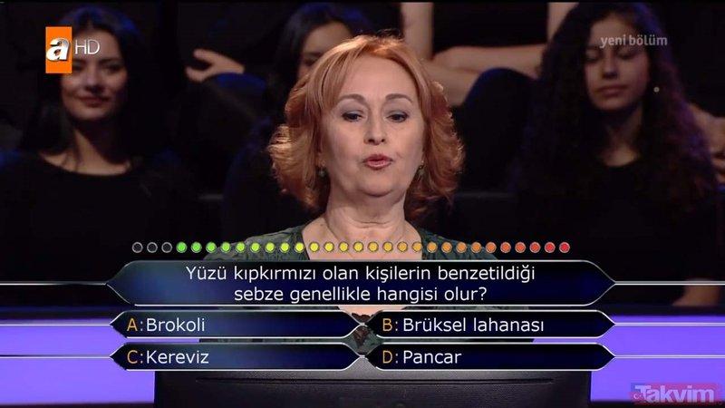 Kenan İmirzalıoğlu'nun sunduğu Kim Milyoner Olmak İster'de geceye damga vuran an! Daha ilk soruda elendi...
