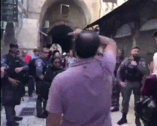 Fanatik Yahudiler Mescid-i Aksa'ya saldırdı