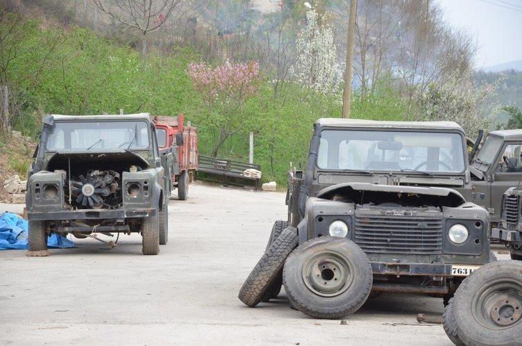 Eski askeri araçların büyük değişimi