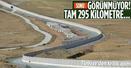 Türkiye-İran sınırında yeni adım! Tam 295 kilometre...