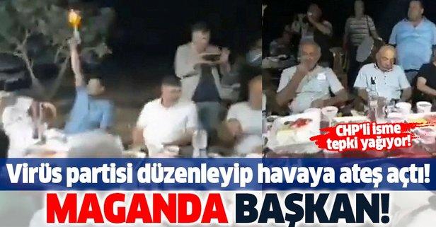 CHP'li başkanın görüntüleri sosyal medyayı ayağa kaldırdı