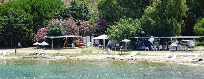 Denize sıfır tatil 25 lira