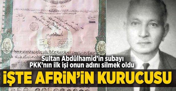 Afrin'i Sultan Abdülhamid´in subayı bir Türkmen kurdu