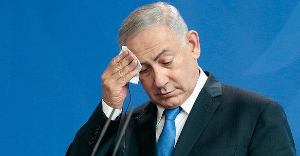 İşgalci Netanyahu'ya tepki!