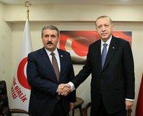 Desticiden Erdoğana tebrik telefonu