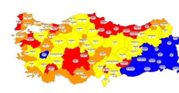 İstanbul Ankara İzmir hangi renk? İstanbul Ankara İzmir yüksek riskli mi, hangi risk grubunda?