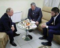 Putinden Nurmagomedova tebrik