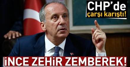 Son dakika... CHP'de kazan kaynıyor! Muharrem İnce toplantıya çağırılmadı!