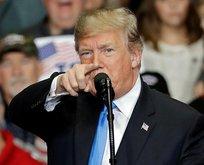 Trump'tan açık tehdit! Ordumuz sizi bekliyor