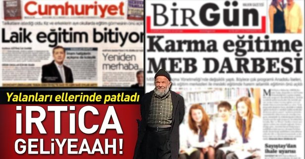 Cumhuriyet ve Birgün'ün kara propagandası ellerinde patladı!